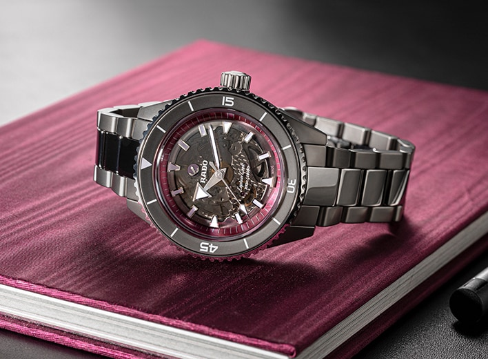 The pink dial project